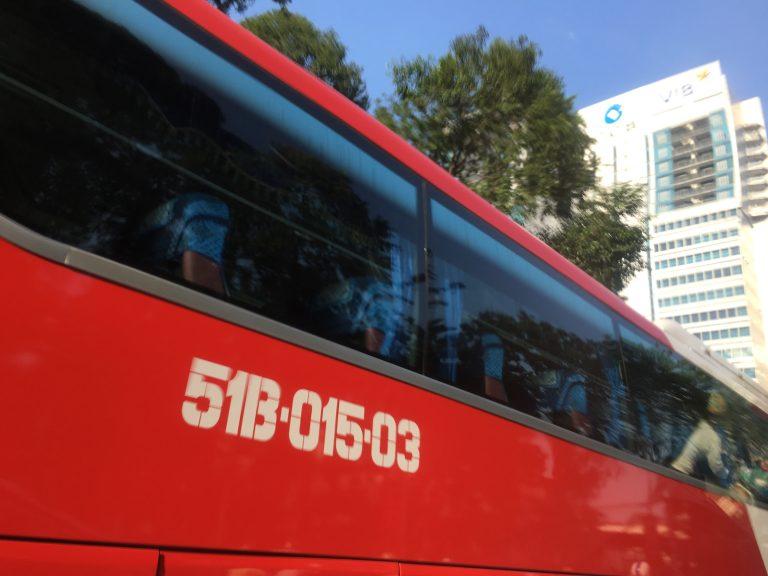 バスの利用を政府が推進