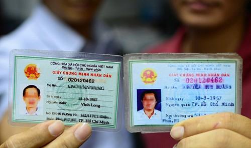 ベトナム 人民証明書(IDカード)
