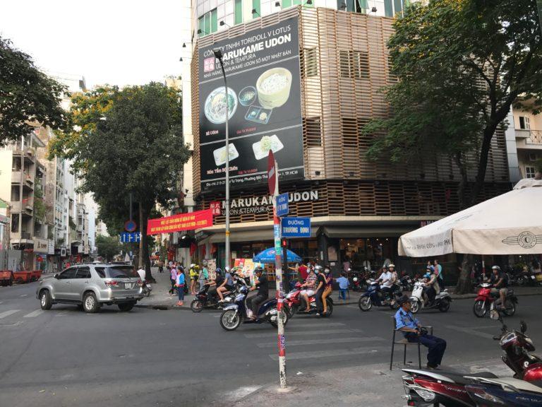 ホーチミンからカンボジア追跡尾行